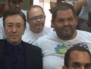 Promotor de Jaraguá faz homenagem a Samuel, aluno da APAE vítima de infarto