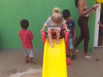 Projeto Social promove confraternização do Dia das Criança em Jaraguá