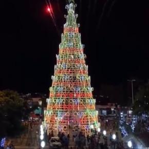 Goianésia inaugura a maior árvore do Vale do São Patrício