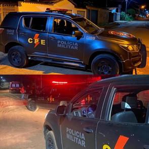 Traficante em Pirenópolis morre em confronto com o CPE após ameaçar a irmã