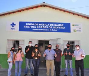 Em São Francisco, Cleuton Timbó reabre Unidade de Saúde fechada há mais de 03 anos