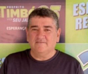 Morre Tião Catimba, vítima da Covid-19, cunhado do Prefeito de São Francisco