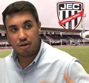 Paulo Vitor diz que não interferirá no Jaraguá Esporte Clube e aguarda novo presidente