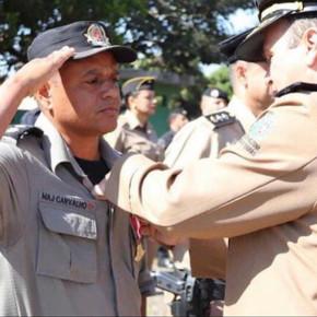Major Leandro Carvalho da 3ª CIPM de Jaraguá é promovido a Tenente Coronel