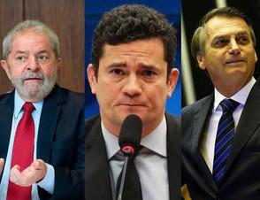 Movimento político defende que Moro seja terceira via em disputa com Lula e Bolsonaro