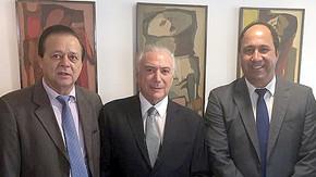 Jovair Arantes e bancada do PTB reafirmam apoio a Michel Temer após delação da JBS