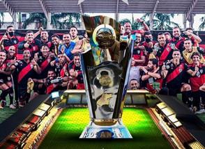 Atlético-GO vence o Goianésia nos pênaltis e é campeão goiano