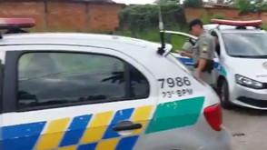 Bandidos tomam 30 mil em assalto à confecção, na fuga um é baleado. Parte do dinheiro é recuperado