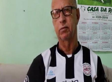Morre Ademar Palito ex-técnico do Jaraguá Esporte Clube