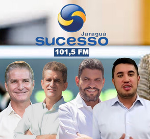 Sucesso FM fará 02 pesquisas, debate e rodada de entrevistas em Jaraguá