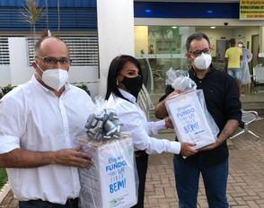 Super Frango doa 03 máscaras de ventilação (VNI) o HEJA Jaraguá avaliadas em 60 mil
