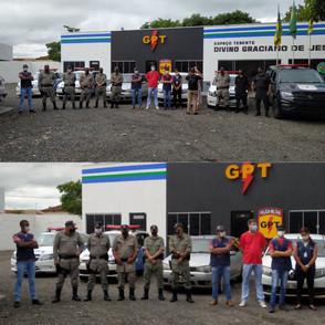 PM e fiscalização da Prefeitura de Jaraguá iniciam operação alertando sobre decreto
