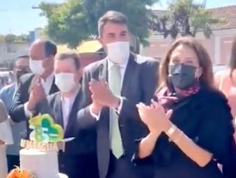 Primeira-Dama do Estado Gracinha Caiado participa do aniversário de 285 anos de Jaraguá
