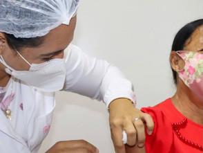 Jaraguá iniciará vacinação contra à Covid-19 para quem tem 60 anos dia 03 de maio