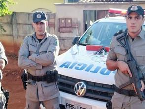 Em Itaguari, suspeito de homicídio e tráfico de drogas morre em confronto com a PM