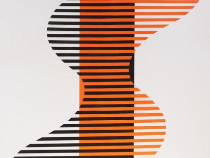 Movimento - escultura plana