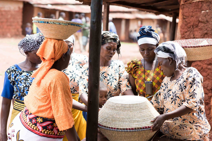 WomenCraft Artisans Discussing Bowls.jpg