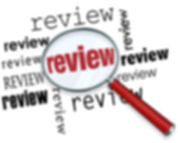 Review magnifying glass looking for evaluation, recommendations, ratings, opinions, feedback or comm