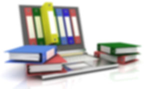 abstract image of computer and folders for documents.jpg