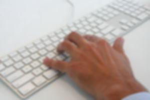 Männlich Typing