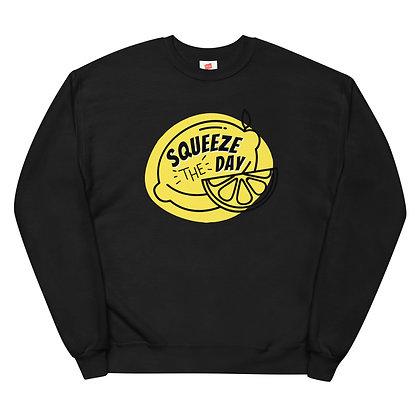Lemon Summer Style Unisex fleece sweatshirt