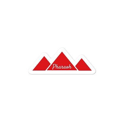 Pharaoh Logo Bubble-free stickers