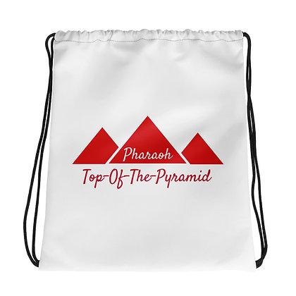 Top-Of-The-Pyramid Drawstring bag