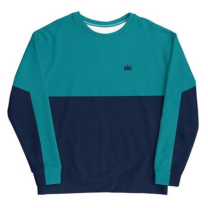 Navy Crown Unisex Sweatshirt