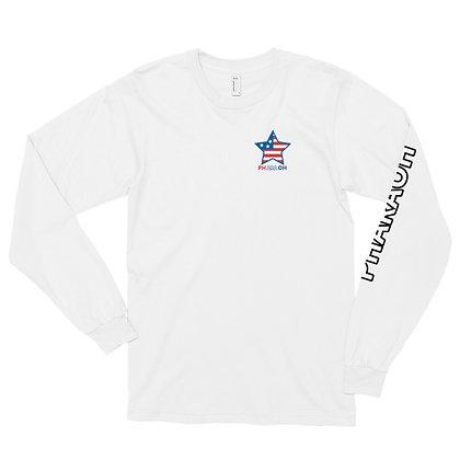 USA Star Long sleeve t-shirt