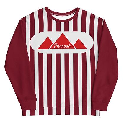 Striped & Round Circle Unisex Sweatshirt
