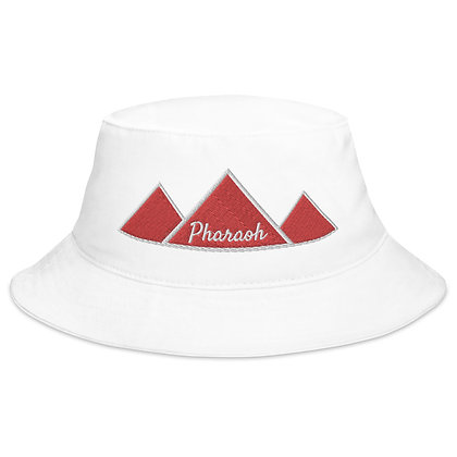 White Pharaoh Bucket Hat