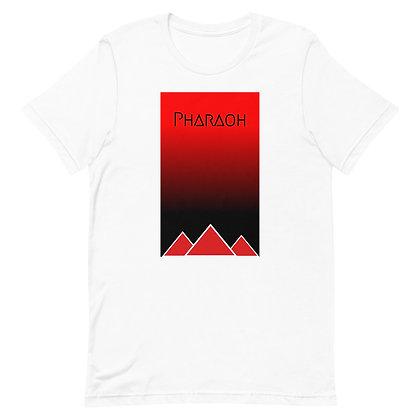 Red & Black Gradient Short-Sleeve Unisex T-Shirt