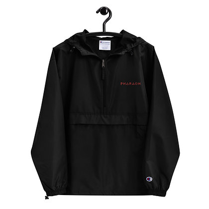 Embroidered Pharaoh-Champion Packable Jacket