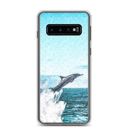 Dolphin Print Samsung Case