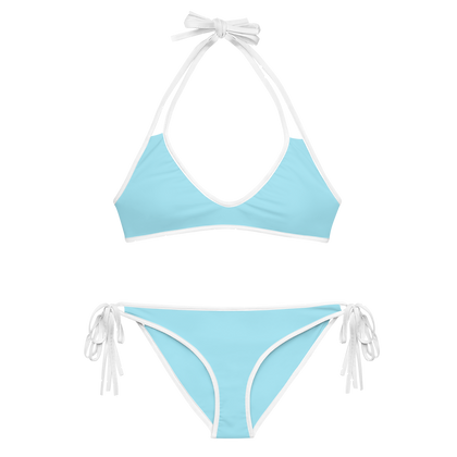 Light Blue Classic 2-Piece Bikini