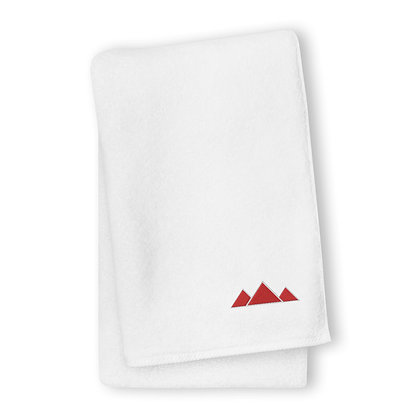 Embroidered Turkish cotton towel