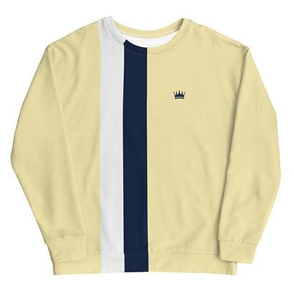 Navy & Cream Crown Unisex Sweatshirt