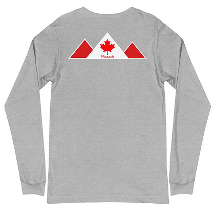 Gray Canada Unisex Long Sleeve Tee