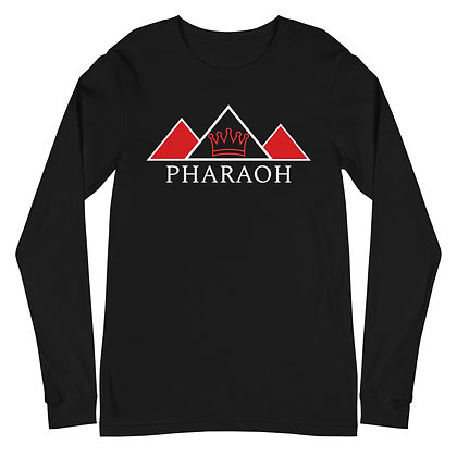 Exclusive Red Crown Insignia Unisex Long Sleeve Tee