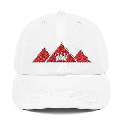 Logo w/ Crown Pharaoh + Champion Dad Cap