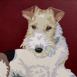 Wire Fox Terrier - slade roberts studio