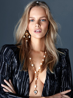 Marloes Horst for Dannijo