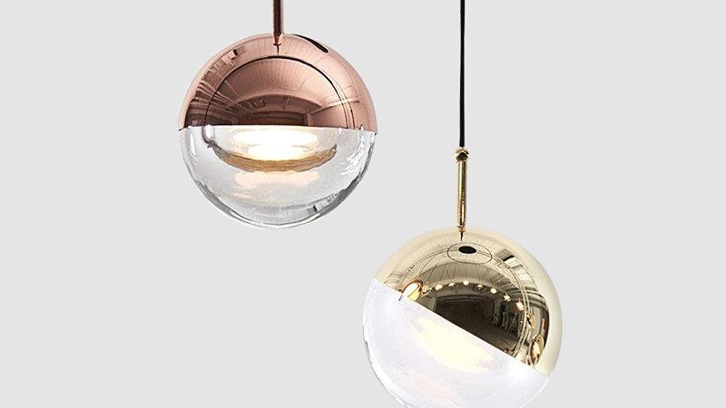 Contemporary LED Globe Pendant Light
