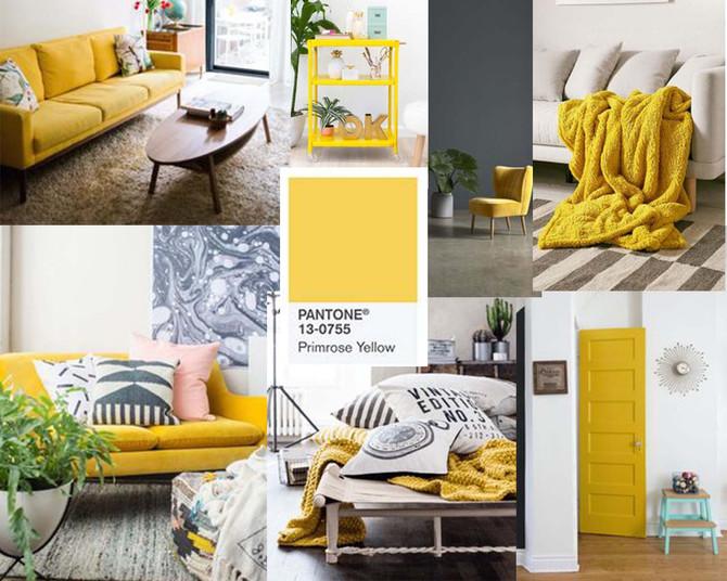 Spring is here - so is Pantone Primrose Yellow!
