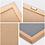 Thumbnail: Felt Oak Frame Handmade Letter Board