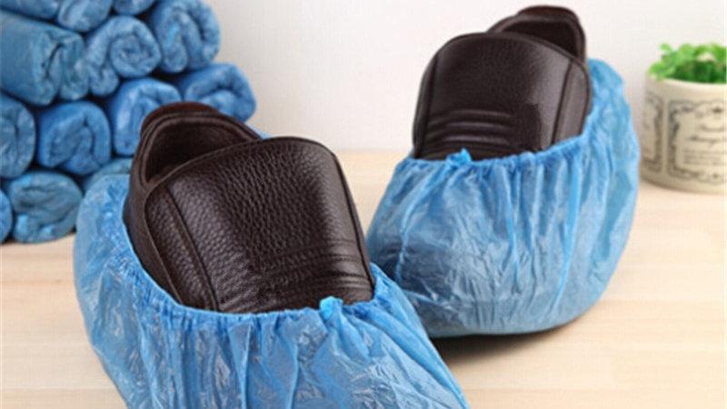 Home Renovation 100Pcs/Set Disposable Shoe Covers