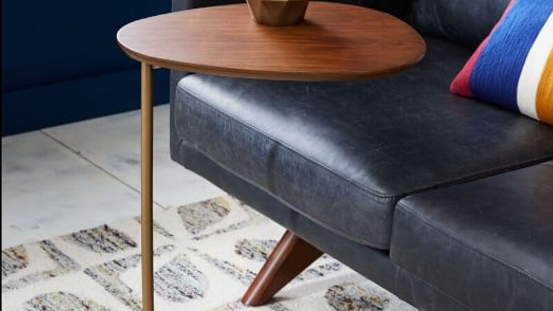 Nordic Modern Oval Accent Table