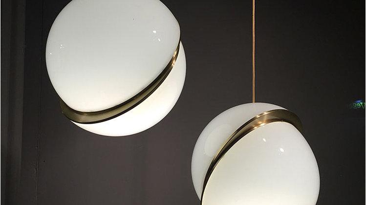 Modern CUT Globe Suspension Pendant Lights