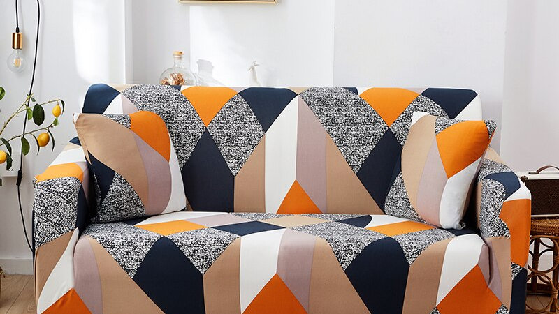 Sofa Slipcovers Patterned