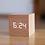 Thumbnail: Digital Wooden LED Alarm Clock